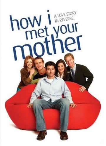 Lily, Marshall, Ted(seduto), Robin e Barney.